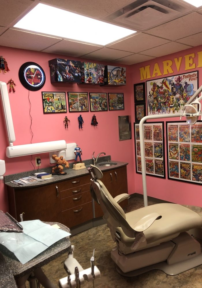 Marvel Room with Dental chair